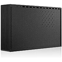 HDD 6TB 外付けハードディスク テレビ録画対応 - MARSHAL MAL36000EX3-BK-6TH