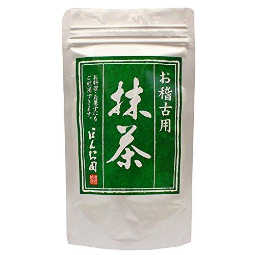 M 宇治抹茶 おけいこ用 抹茶 100g
