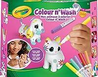 Crayola Color'N'Washペット - 私のペットのぬりえキット - 犬と猫、74-7265-F000