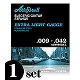 Aria Pro II ( アリアプロツー ) AGS-800XLx1/09-42 お試し1セット エレキギター弦