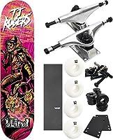 """ブラインドスケートボードWarriorスケートボード8"""" x 31.7"""" Complete Skateboard–7項目のバンドル"""