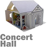 Papertoy 3d Paper House - What's Up Showtory Concert Hall