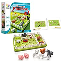 SmartGames Smart Farmer Board Game%カンマ% a Fun%カンマ% STEM Focused Cognitive Skill-Building Brain Game and Puzzle Game for Ages 5 and Up [並行輸入品]