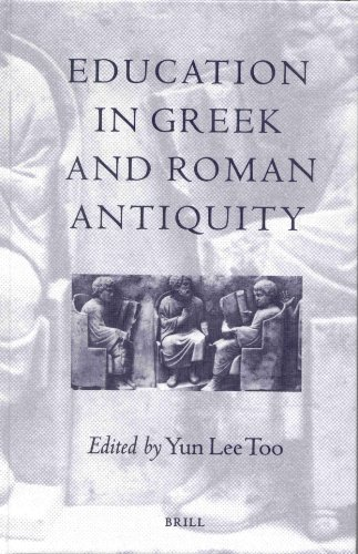 Download Education in Greek and Roman Antiquity 9004107819