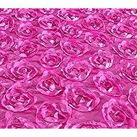 Somnus258 バラ スパンコール 生地 100cmX150CM 紫 衣装 テーブル 結婚式 宴会 パーテイ 布 材料 飾り DIY