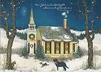 クリスマス夜Boxedフォトクリスマスカード–Linda Nelsonアートワーク