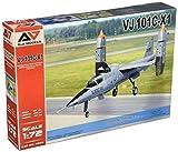 モデルズビット 1/72 西ドイツ軍 VJ101C-X1 超音速垂直離着陸試作戦闘機 (A&Amodelブランド) プラモデル MVA72003