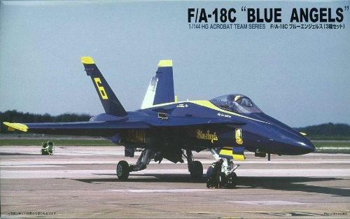 F/A-18C ブルーエンジェルス (3機セット) (1/144 ハイグレードジェットファイター編隊シリーズ No.3)