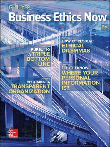 Download Business Ethics Now 1259535436