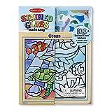 "Melissa & Doug Peel & Press ""Stained Glass"" Undersea Fantasy"