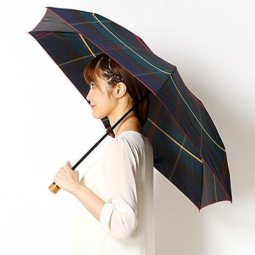 マッキントッシュフィロソフィー(傘・ネックウェア・帽子)(MACKINTOSH PHILOSOHPY 雨傘(3段/折りたたみ/ミニ)(レディース/ユニセックス/男女兼用)チェック【74 ネイビー/55】