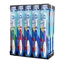 大人&子供用30 PCSホワイトニングブラシミディアムチップブリストル歯ブラシ