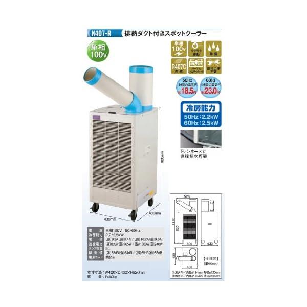 ナカトミ(NAKATOMI) 排熱ダクト付スポ...の紹介画像2