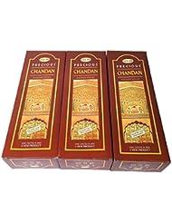 チャンダン香 スティック 3BOX(18箱) / HEM CHANDAN / インド香 お香 [並行輸入品]