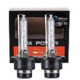 Briteye(まぶしい) ヘッドライト D2S HID バルブ 35W 高品質 純正交換用バルブ 6500K 12V 車用(2個入り)