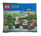 レゴ シティ ホットドッグカートと店員 (30356) 袋入り