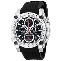 ブローバ Bulova 98B172 Mens Precisionist Black Chronograph Watch [並行輸入品]