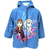 Western Chief Girls' Frozen 2 Rain Jacket with Anna and Elsa