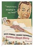 1950年代「映画プログラム 奥様は芳紀17才-B-」ディック・パウエル、デビー・レイノルズ