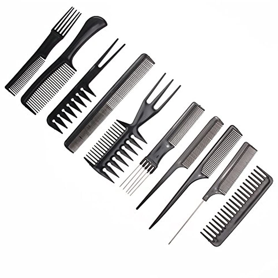 ファシズムシーボード代替10pcs/Set Professional Hair Brush Comb Salon Barber Anti-static Hair Combs Hairbrush Hairdressing Combs Hair Care...