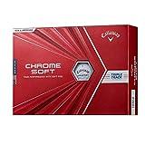 Callaway(キャロウェイ) ゴルフボール CHROME SOFT 1ダース12個入り 2020年モデル ホワイト