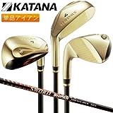 カタナ ゴルフ スウォード SWORD izu max スナイパー アイアン 単品 (AS,SW) オリジナル カーボンシャフト AS/R