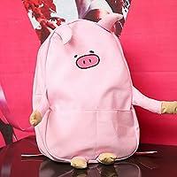 Mrs.L Store バッグ 肩掛け 動物 キャラクター レディース かわいい ファッション 大容量 (pink)