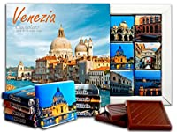 DA CHOCOLATE キャンディスーベニア ベニス チョコレートギフトセット 13x13cm 1箱 (大聖堂)