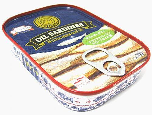オイルサーデン 1缶 エクストラバージンオリーブオイル漬け TETTY マルハニチロ オリーブオイル いわし イワシ サーデン 缶詰 缶詰め 高級 オリーブオイル漬け オイルサーディン エキストラバージンオリーブオイル 英国製 高級品