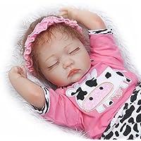 SanyDoll Rebornベビー人形ソフトSilicone 18インチ45 cm磁気Lovely Lifelike Cute Lovely Baby b0763lm9rh