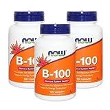 3個セット ビタミンB-100 100粒 [海外直送品]