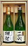 獺祭 DASSAI 三割九分と十四代(別撰・純米吟醸)のギフト箱Kセット(各720ml)