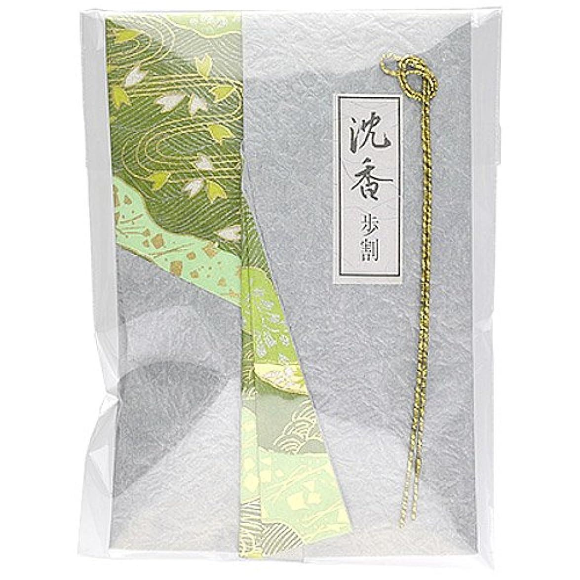 長椅子帝国インシュレータ日本香堂 香木 10g 「沈香 歩割」 4902125426009