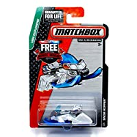 SNOW RIPPER (White) * MBX Explorers * 2014 Matchbox on a Mission Basic Die-Cast Vehicle (#7 of 120)