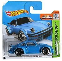 Hot Wheels HW Workshop 220/250 Blue Porsche 934 Turbo RSR on Short Card
