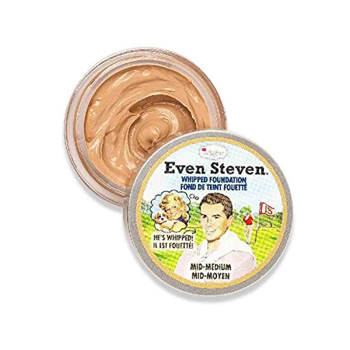 対処証明書美人ザバーム Even Steven Whipped Foundation - # Mid-Medium 13.4ml/0.45oz並行輸入品
