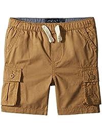 ラッキーブランド Lucky Brand Kids キッズ 男の子 ショーツ 半ズボン Kelp Pull-On Cargo Woven Shorts (Toddler) [並行輸入品]
