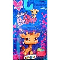 Littlest Pet Shop Exclusive Figure Giraffe [Geoffrey] Valentine's Day Package by Hasbro [並行輸入品]