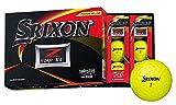 DUNLOP(ダンロップ) ゴルフボール SRIXON Z-STAR XV ゴルフボール 2019年モデル 1ダース(12個入り) プレミアムパッションイエロー