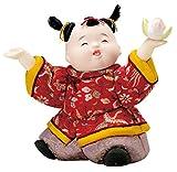 唐子の舞(正絹)木目込み人形 材料セット(手芸材料・人形キット)