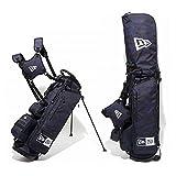 ニューエラ ゴルフ スタンド キャディバッグ タイガーストライプカモ 迷彩 黒 鞄 NEWERA GOLF STAND CADDIE BAG TIGER STRIPE CAMO 11404363
