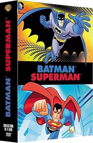 Batman Superman - Collection de 4 DVD