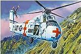 トランペッター 1/48 アメリカ陸軍 CH-34 救難ヘリコプター プラモデル 02883