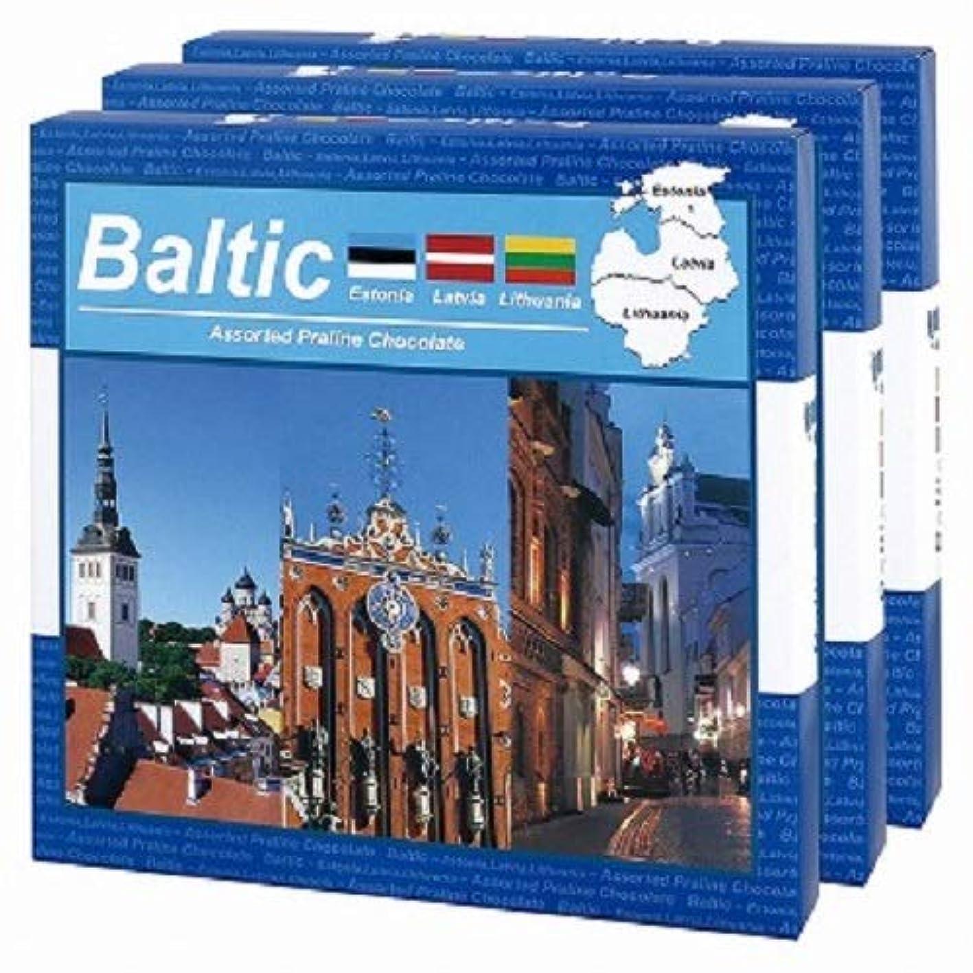 森林怒る腕バルト(Baltic)アソートチョコレート3箱セット【バルト三国 海外土産 輸入食品 スイーツ】
