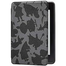 Kindle Paperwhite (第10世代)用保護カバー ムーミン・ブラックシャドウ