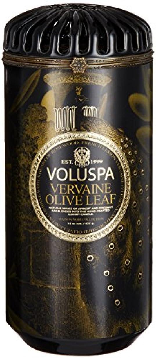 虚弱広範囲に相談するVOLUSPA メゾンブラック セラミックキャンドル バーベイン オリーブ リーフ