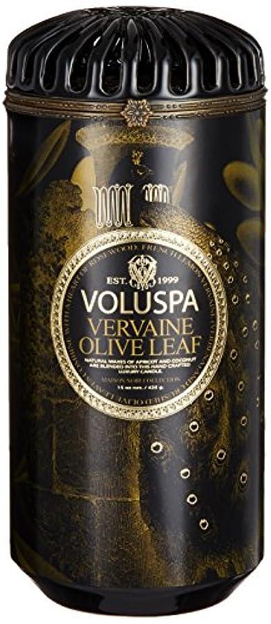 VOLUSPA メゾンブラック セラミックキャンドル バーベイン オリーブ リーフ