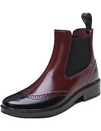 TONGPU 雨靴 短靴 レインブーツ レインシューズ サイドゴアショート おしゃれ 男性 女性 安全靴