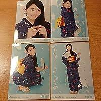 乃木坂46 浴衣 真夏の全国ツアー2018 ランダム生写真 4種コンプ 大園桃子