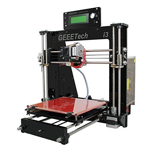 GEEETECH 3Dプリンター Prusa I3 Pro B アクリル製フレーム 未組み立て 3Dプリンタ DIYキット …